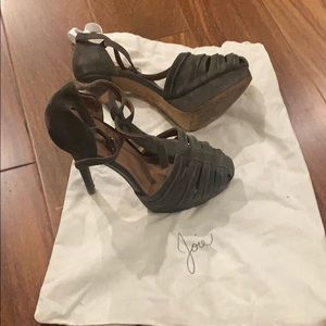 Joie Strappy Heels - size 36